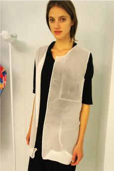 真空成形技術を駆使した洋服